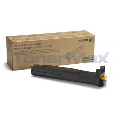 XEROX WORKCENTRE 6400 TONER CTG BLACK 12K